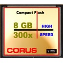 Compact Flash 8 Go 300x